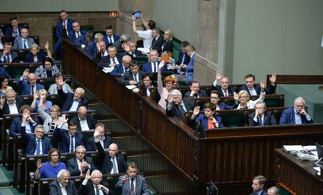 Głosowanie nad ustawą o Sądzie Najwyższym