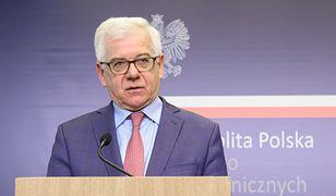 Szef polskiego MSZ, Jacek Czaputowicz