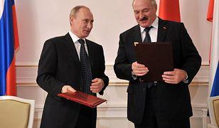 Władimir Putin i Aleksandr Łukaszenka.