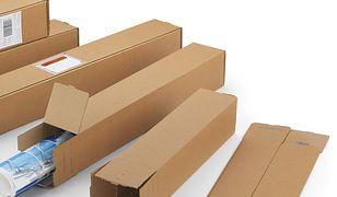 Tuby wysyłkowe kartonowe, Quattropack