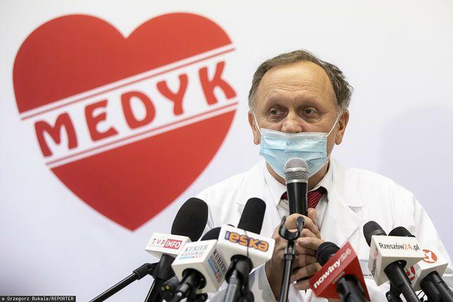 Szczepienia w Rzeszowie. Dr Stanisław Mazur zaprzecza, że szczepienia mają związek z wyborami prezydenckimi w mieście