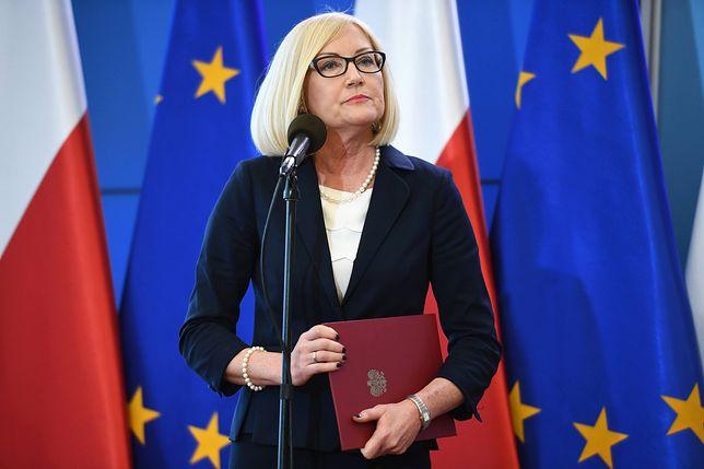 Od 19 grudnia 2017 Joanna Kopcińska jest rzecznikiem prasowym rządu i sekretarzem stanu w KPRM