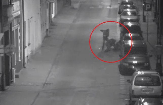 Brutalna napaść na ulicy w Nakle. To porachunki gangsterów?