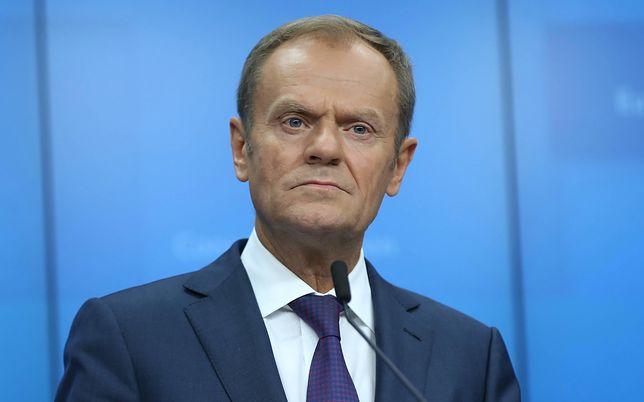 """Donald Tusk mówił o Adamowiczu w Akwizgranie. """"Kochał Gdańsk, był polskim patriotą"""""""