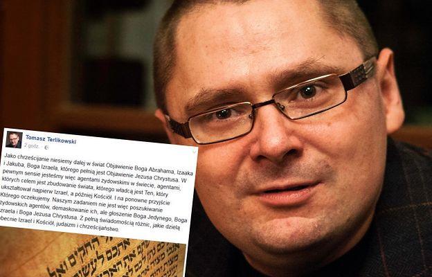 Terlikowski punktuje byłego księdza: Żyd jest twoim Panem