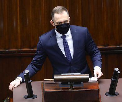 Krzysztof Rutkowski o pośle PO. Cezary Tomczyk odpowiada