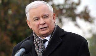 Jarosław Kaczyński podczas kampanii wyborczej w 2015 roku