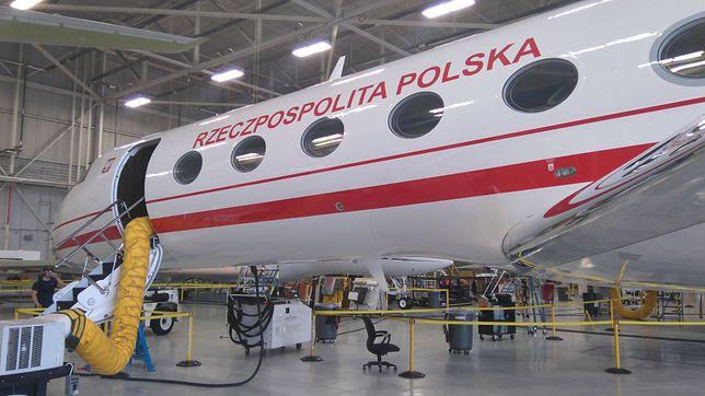 Nowy prezydencki odrzutowiec przyleci do Bydgoszczy