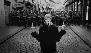 Marsz Miliona Masek Anonymousa w Warszawie!