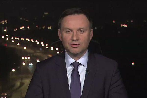Andrzej Duda: pani premier Ewa Kopacz ma tendencję do kłamstwa