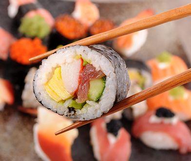 Kaloryczność sushi jest zależna od składników użytych do wykonania tej potrawy