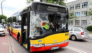Warszawa. Zarzuty dla kierowcy autobusu po wypadku na Bielanach