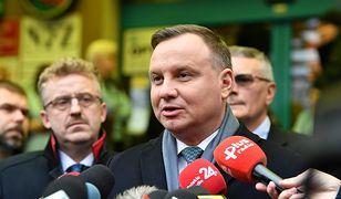 Wybory prezydenckie 2020. Zarzut znieważenia Prezydenta RP po ataku na wolontariuszy sztabu Andrzeja Dudy