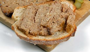Wegetariański pasztet z soczewicy i kaszy jaglanej