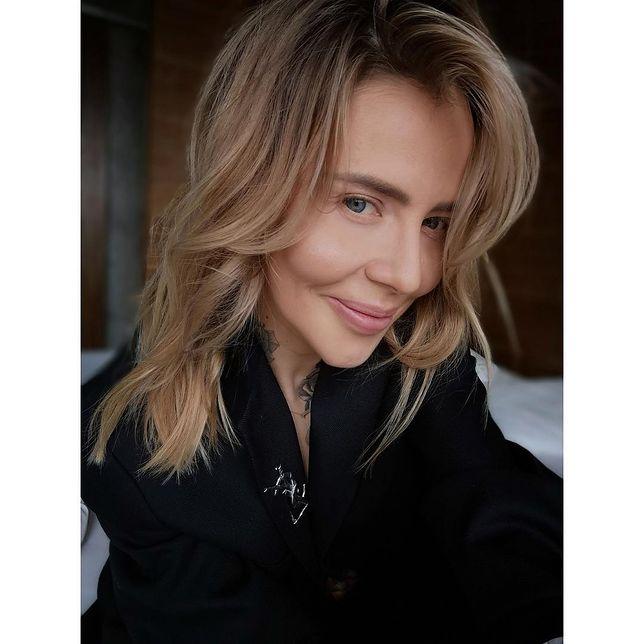 Maja Sablewska bez makijażu. Wygląda dziewczęco i delikatnie