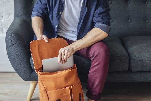 Plecak na laptopa powinien być wytrzymały.