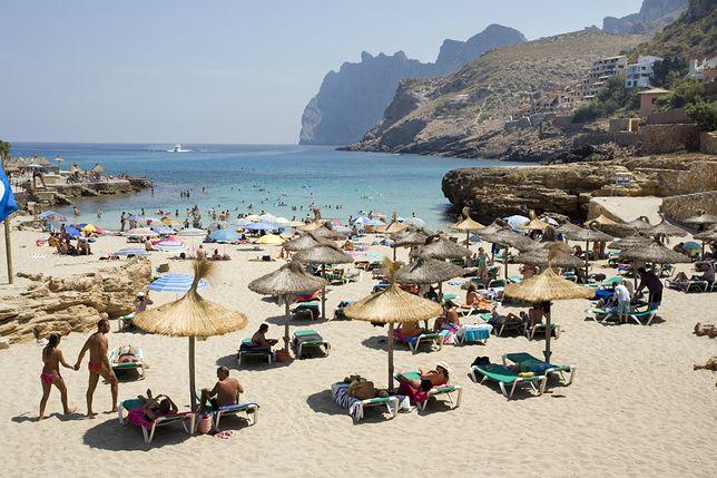 Plaża na Majorce (zdjęcie ilustracyjne)