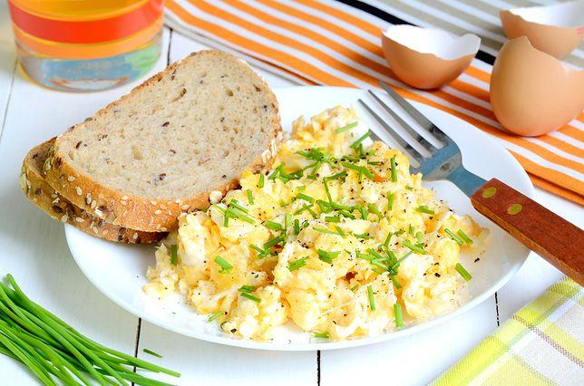 Jajecznica to najlepszy sposób na dobry początek dnia