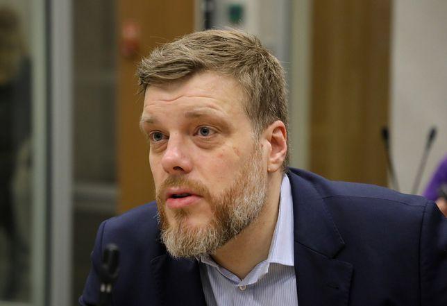 """Adrian Zandberg o wotum nieufności dla Mariusza Kamińskiego: """"Na zdrowie mu to nie wyjdzie"""""""