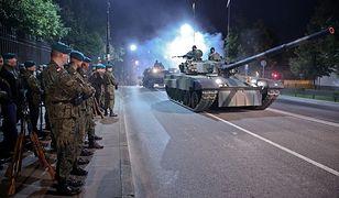 Czołgi wyjechały na ulice stolicy. Trwają przygotowania do defilady [GALERIA]