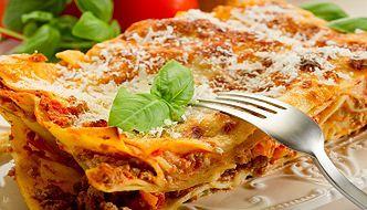 Przepis Ani Starmach: lasagne. Pyszna potrawa, która uda się każdemu