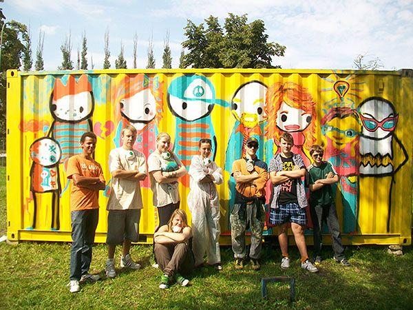 Brytyjski artysta odnalazł namalowane w Gdańsku graffiti w londyńskim domu aukcyjnym