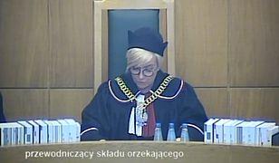 Wyrok ws. KRS odczytała prezes TK Julia Przyłębska