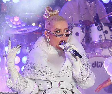 Christina Aguilera w przedziwnej sylwestrowej kreacji