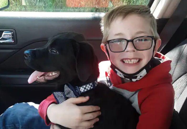 8-latek uratował życie swojego psa. Zrobił coś niesamowitego