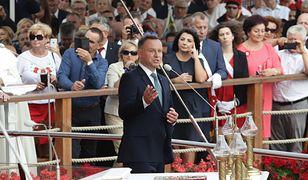 Jasna Góra: Andrzeja Duda nie szczędzi komplementów. Odczytano list do Rodziny Radia Maryja
