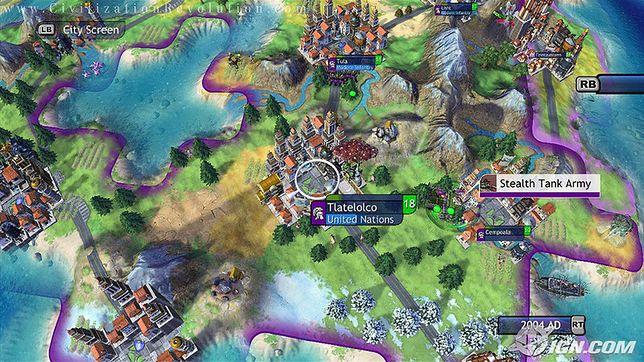 Gry strategiczne - kadr z gry Sid Meier's Civilization Revolution 2
