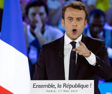 Macron wywodzi się z zupełnie innego środowiska niż większość ludzi, która poparła jego ruch i dziś daje mu się to coraz bardziej we znaki.