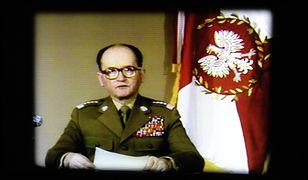 Przemówienie telewizyjne informujące o wprowadzeniu stanu wojennego