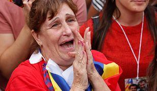 Deklaracja niepodległości wywołała euforię na ulicach Barcelony