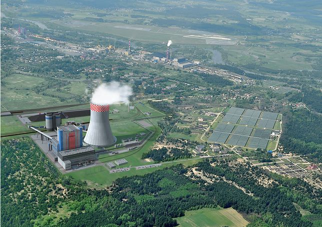 Wizualizacja Elektrowni w Ostrołęce