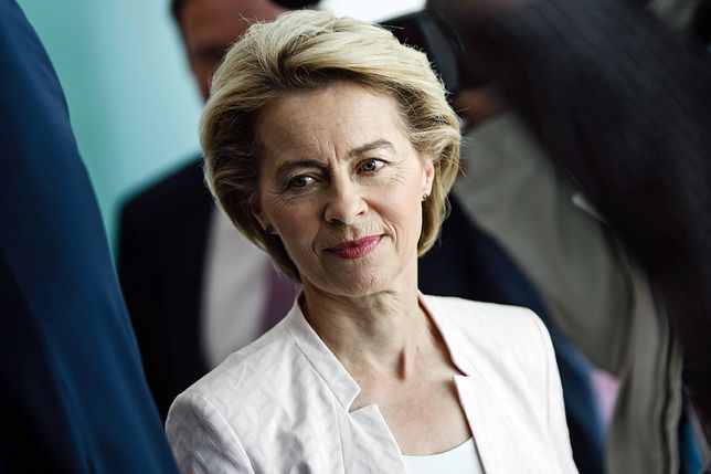 """Ursula von der Leyen chce karać państwa niechętne imigrantom. """"To pałka na niesolidarne kraje"""""""