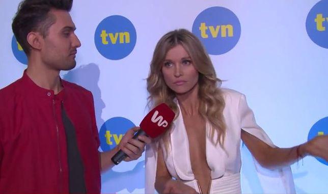 """""""Top Model"""": Joanna Krupa zaskoczona pytaniem dziennikarza. jak zareagowała?"""