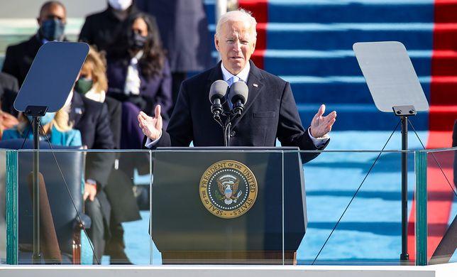 Zaprzysiężenie Joe Bidena. Prezydent USA wygłosił przemówienie