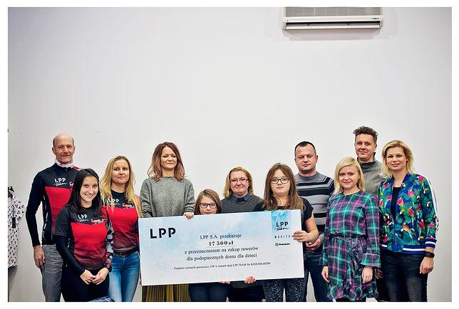 Za każdy zarejestrowany kilometr LPP przekazywało 50 groszy na LPP Team for Kids