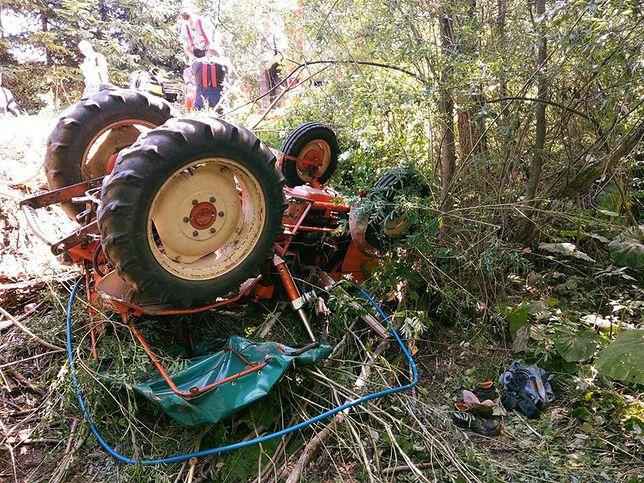 Wypadek w Małopolsce