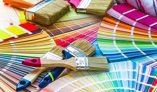 Nowoczesne farby nadają ścianom kolor, fakturę i połysk