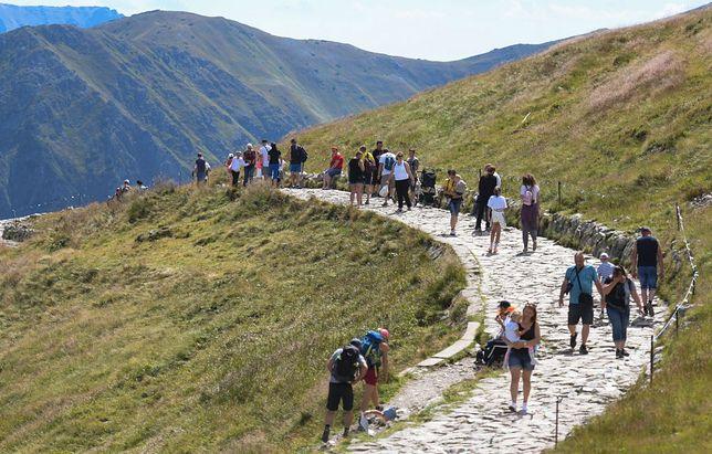 W ostatni weekend sierpnia na górskich szlakach można się spodziewać tłumów