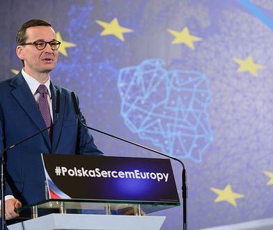 Mateusz Morawiecki na konwencji PiS w Poznaniu