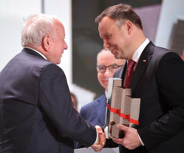 Zbigniew Grycan i Andrzej Duda w trakcie 3. edycji Kongresu 590 w Jasionce