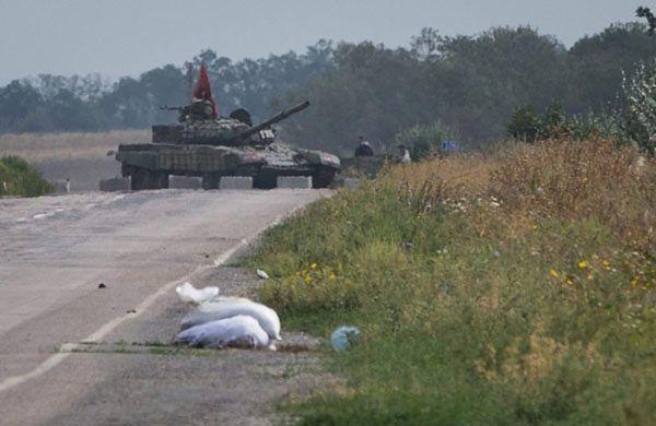 Punkt kontrolny prorosyjskich separatystów