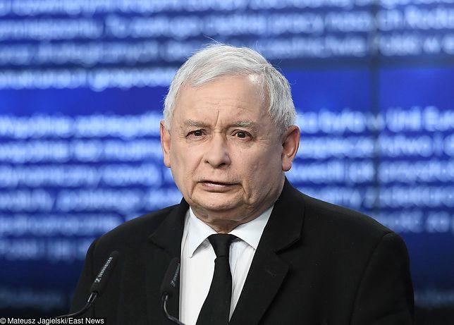 Wybory parlamentarne 2019. Przemówienie Jarosława Kaczyńskiego