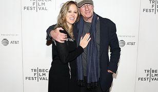 Richard Gere z żoną Alejandrą Silvą