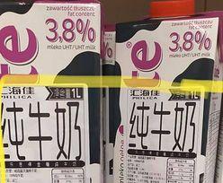 Chińska etykieta na polskim mleku. Nietypowa wpadka