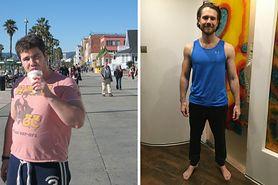 Schudł 33 kilogramy w 7 miesięcy. Metamorfoza Mateusza Grzesiaka