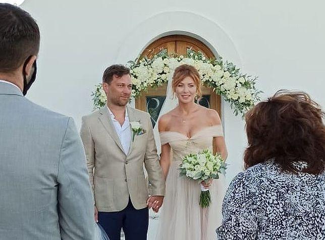 Agata Załęcka z mężem Jakubem Kwiatkowskim